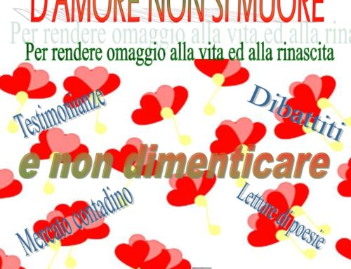 """Violenza di Genere : """"D'amore non si muore"""" 21-26 novembre 2017"""
