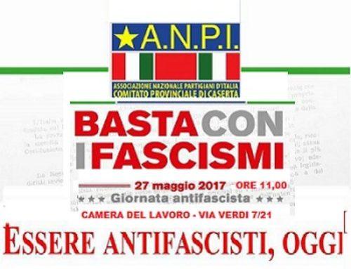 Giornata antifascista – 27 maggio ore 11:00 CGIL Caserta