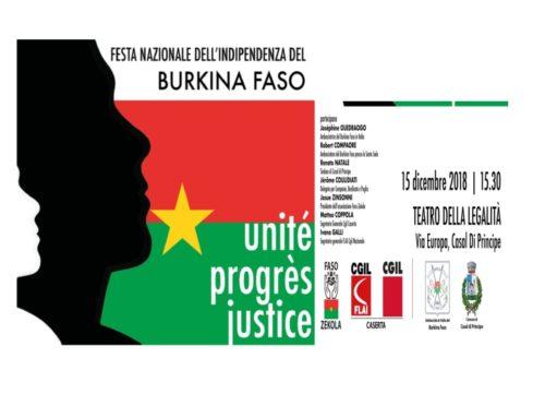 Festa Burkina Faso – Comunicato