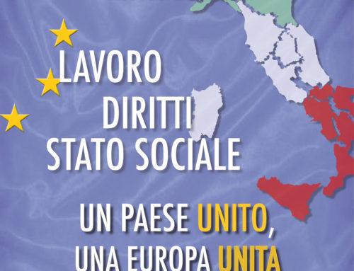 Primo maggio – Festa dei lavoratori: Italia Unita, Europa Unita