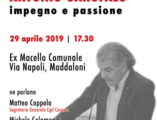 Iniziativa in ricordo di Antonio Garofalo