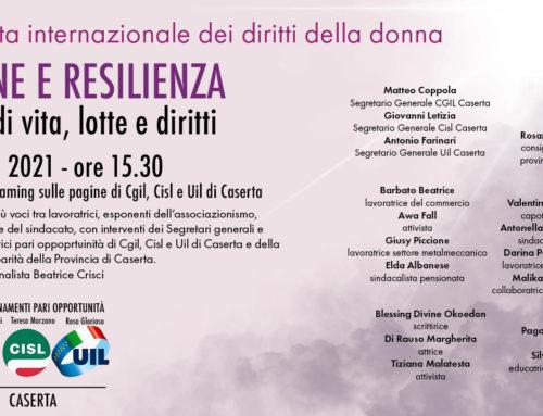 8 marzo 2021: Donne e Resilienza – iniziativa unitaria in streaming
